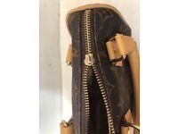 Louis Vuitton mini brown handbag