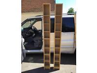 Ikea slim billy bookcases