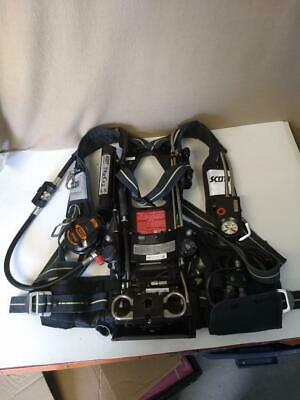 Scott Air-paknxg2 4.5 Scba With Hud No Tankbottle Dated 100706 Euc N