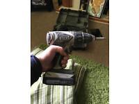 Panasonic cordless drill and torch