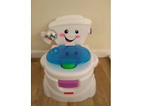Fisher-Price My Potty Friend, Kids Toilet Training Seat with Sounds, Songs & Phrases to Encourage