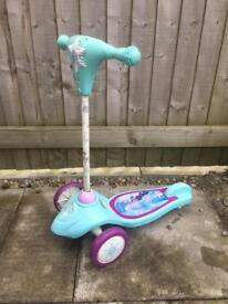 Free - frozen scooter