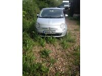 Fiat 500 nonstarter but full service and MOT history