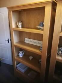 Solid Oak Chelsea Bookcase