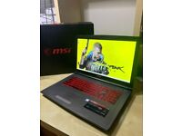 High End Gaming Laptop Six-Core i7 8TH/ Nvidia GeForce/ 16GB DDR4 / SSD + HDD