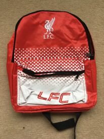 Genuine Liverpool FC backpack small.