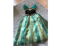 3 Disney Princess dresses Anna Elsa Minnie Frozen Age 4 Disney Store