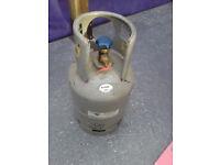 R22 Refrigerant A-Gas Cylinder.