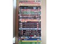 x5 DVDs Special Editions,x20 DVDs Boxsets of 2