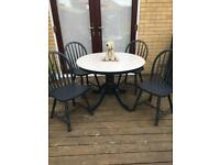 Reduced Table and chairs