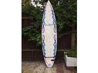 """Surfboard – 6' 10"""" long by 20"""" wide """"Freebird"""" surfboard"""