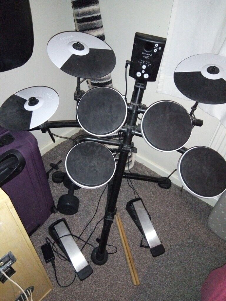 Roland electronic drum kit in mint condition  | in Newcastle, Tyne and Wear  | Gumtree