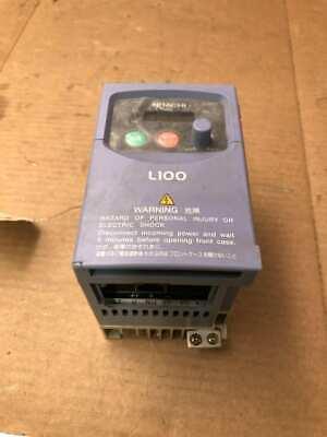 Hitachi L100-004nfe 12hp Ac Drive Vfd Inverter 200-240v 13ph 1-360hz