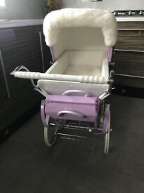 Silver Cross Snow Fairy Dolls Pram