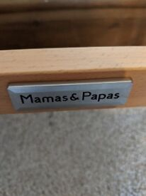 Mama and papa unisex Moses basket