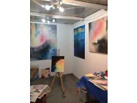 Art studio to share during December, Wandsworth - Wimbledon