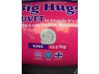 Slumber down duvet King 13.5tog rrp £27.99