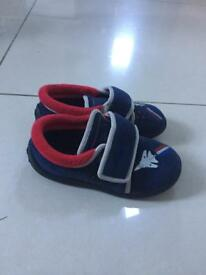 Boys doodle Jet slippers