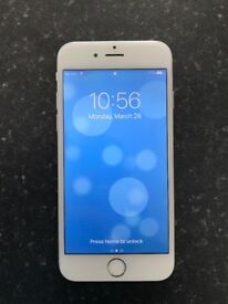 iPhone 6 64GB, excellent condition, less than 12 months old. Only selling due to upgrade on contract