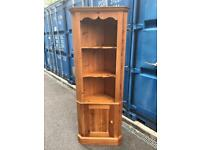Solid pine quality corner display unit possible delivery