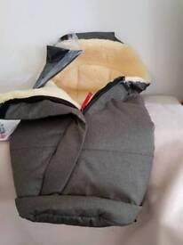 NEW Kaiser Sheepskin Footmuff RRP £200