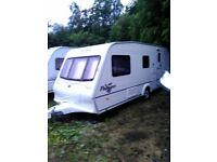 BAILEY PAGEANT/MOSSELE caravan for sale in very good condition£4200.00