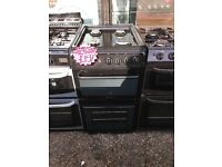 HOTPOINT 50CM ALL GAS COOKER IN BROWN