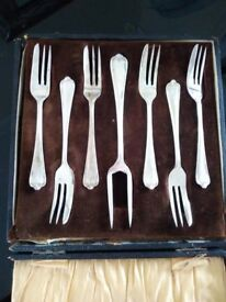 Pastry forks - £20ono