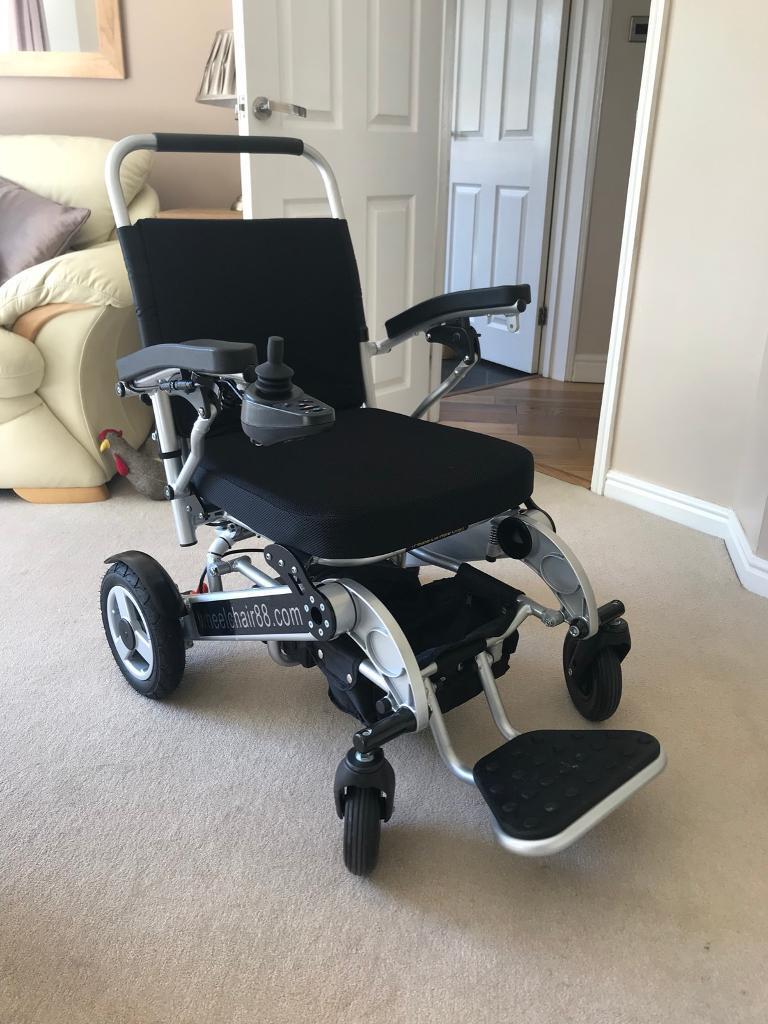 Foldawheel PW-1000XL (Lightweight Power Wheelchair) - Nearly New!