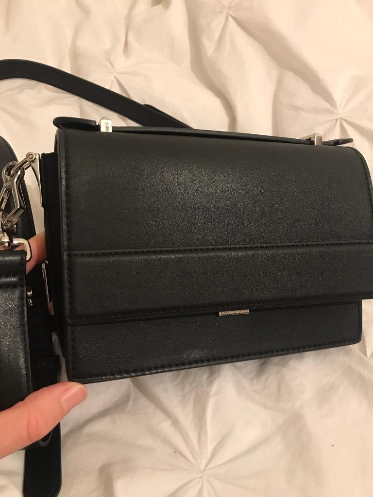 Charles & Keith small black bag