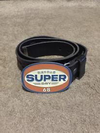 Men's Superdry Leather Bel