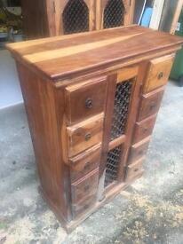 Sheesham chest of drawers