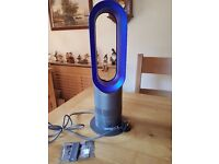 Dyson Silver/Blue Hot Fan Heater
