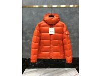 Moncler Puffer Jacket Orange (all sizes& colours)
