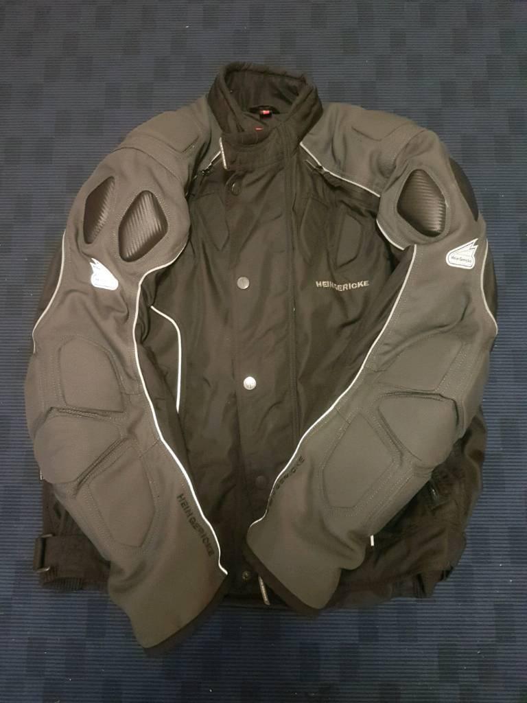 Hein Gericke Goretex suit.