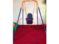 Hedstrom indoor / outdoor toddler swing