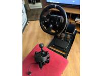 Logitech g920 with project cars