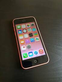 iPhone 5c 16gb Pink - O2 / Giffgaff network - Good Condition