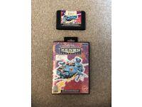 Sega Mega Drive Game Xenon 2