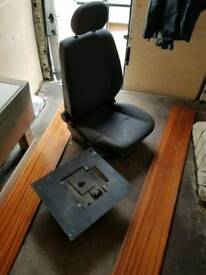 Ford transit seat and base