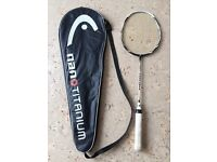 Badminton racquet head nano 700 excellent condition