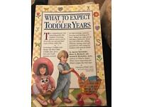 What to Expect The Toddler Years-American edition