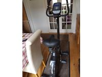 KETTLER GIRO P UPRIGHT CYCLE EXERCISE BIKE (Black)