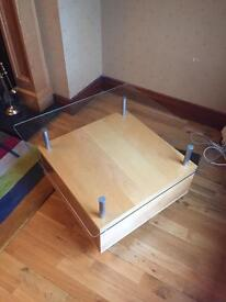 IKEA beech coffee table in excellent condition £25
