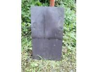 4,700 slates Larne court yard Bangor Blue Slates reclaimed tiles