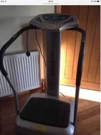 Vibration plate in excellent working condition