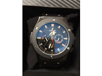 Hublot Big Bang Black, Automatic Watch, Rubber Strap *1st Class Postage Available*