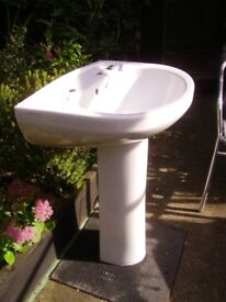 Bathroom Basin with Pedestal stand