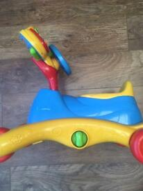 Toddler VTech Grow and Go ride on