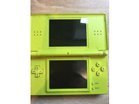 Green ds lite (no camera) full working order £20